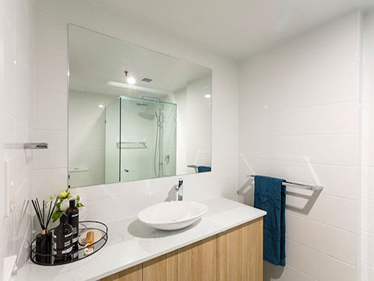 bathroom renovation by envision build